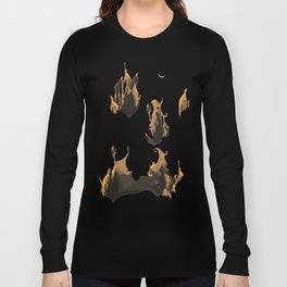 Floating cliff Long Sleeve T-shirt