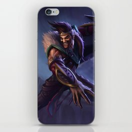 Classic Draven League Of Legends iPhone Skin