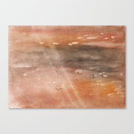 Rosy brown abstract Canvas Print