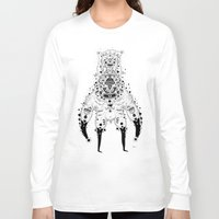crab Long Sleeve T-shirts featuring Crab Man by Cosmic Nuggets
