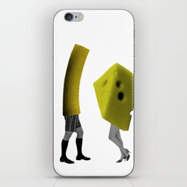 Because she's the cheese and I'm the macaroni iPhone Skin