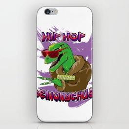 Hip Hop Deinonychus iPhone Skin