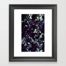 RYD LYNE STYRSHYP Framed Art Print