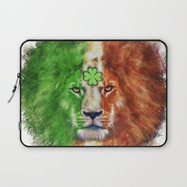 St. Patrick's Day Irish Lion Laptop Sleeve