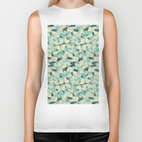 prism Biker Tanks featuring Prism by Creo