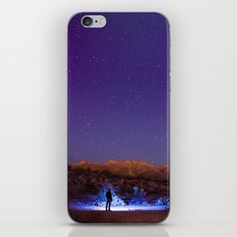 Exploring the night iPhone Skin