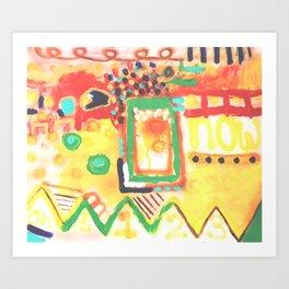 Now 2 Art Print