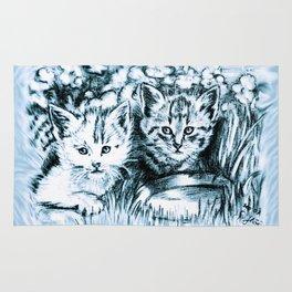 cats babies Rug