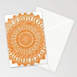 Sunshine-Orange Stationery Cards
