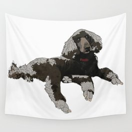Too Cool Poodle Wall Tapestry