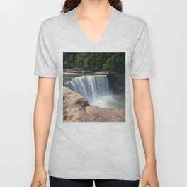 Cumberland Falls, Kentucky Unisex V-Neck