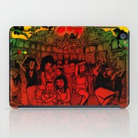 rave iPad Cases featuring Jungle Rave by Von Grey