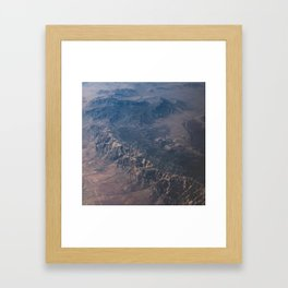 Arizona Mountains Framed Art Print