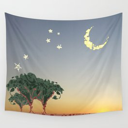 Under a southern sky Wall Tapestry