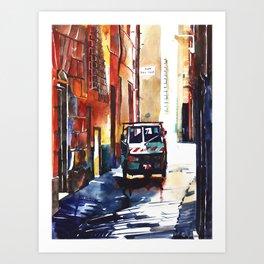Genoa area near Vico del Sale Art Print