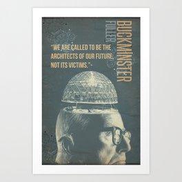 Buckminster Fuller Poster Art Print