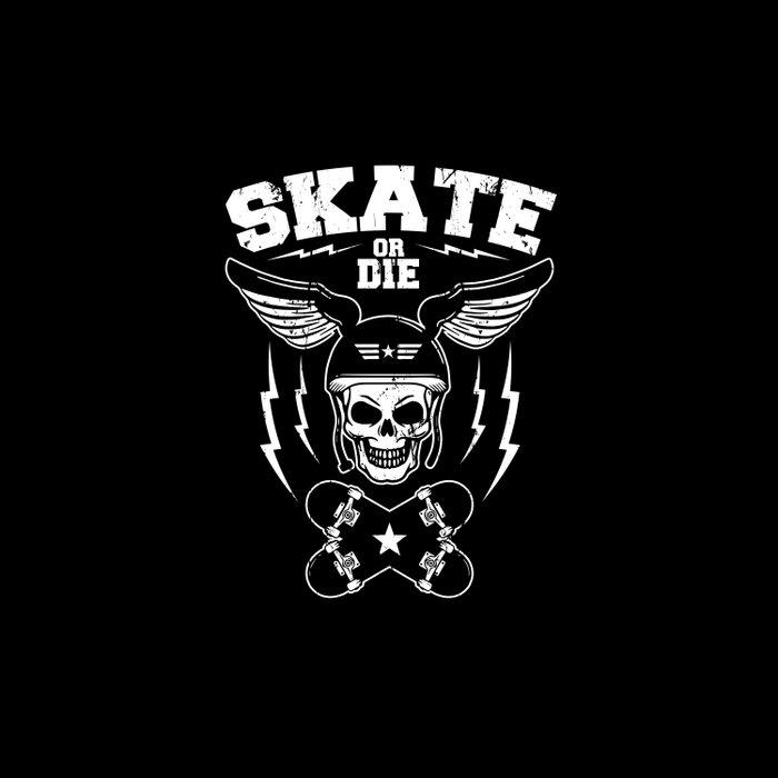Skate or die Duvet Cover