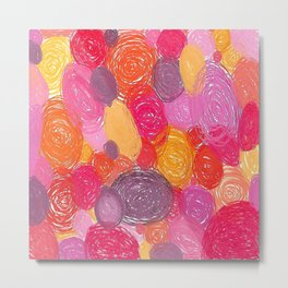 Candy Swirlies Metal Print