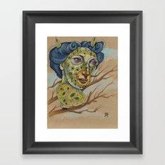 FURBIES IN THE MIST Framed Art Print