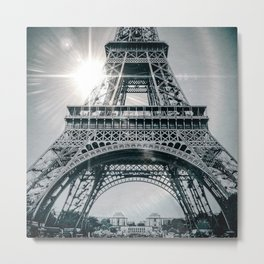 PARISIAN FLARE Metal Print