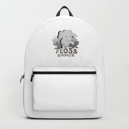 Floss Dance Move Elephant Backpack