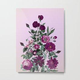 Romantic Garden III Metal Print