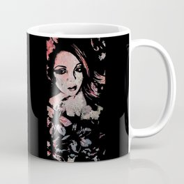 Ruined Our Everything: Red (graffiti flower lady portrait) Coffee Mug