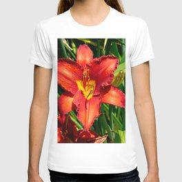 Deep Orange Tiger Lily T-shirt