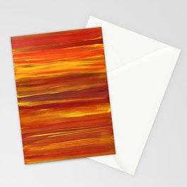Sunset stratum Stationery Cards