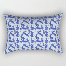 Bunny love - Blueberry edition Rectangular Pillow