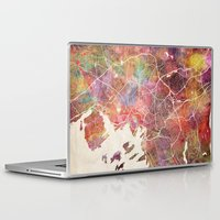 oslo Laptop & iPad Skins featuring Oslo by MapMapMaps.Watercolors