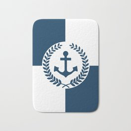 Nautical themed design Bath Mat
