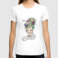 marie antoinette T-shirts featuring Marie Antoinette by Kittymacdraws