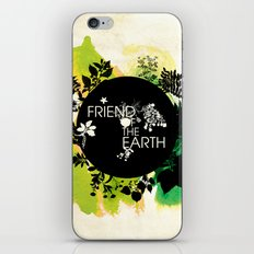 Friend of the Earth iPhone & iPod Skin