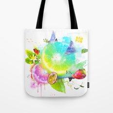 Acid Lima Tote Bag