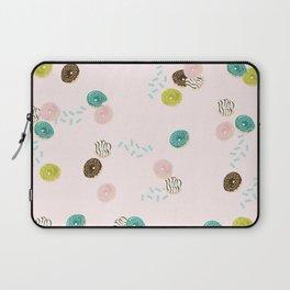 Mini Doughnuts & Sprinkles Laptop Sleeve