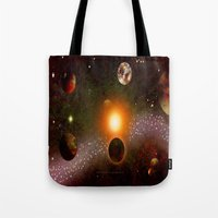 verse Tote Bags featuring KANDY-VERSE - 106 by Lazy Bones Studios