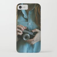 photographer iPhone & iPod Cases featuring Photographer by Jelena Pejovic