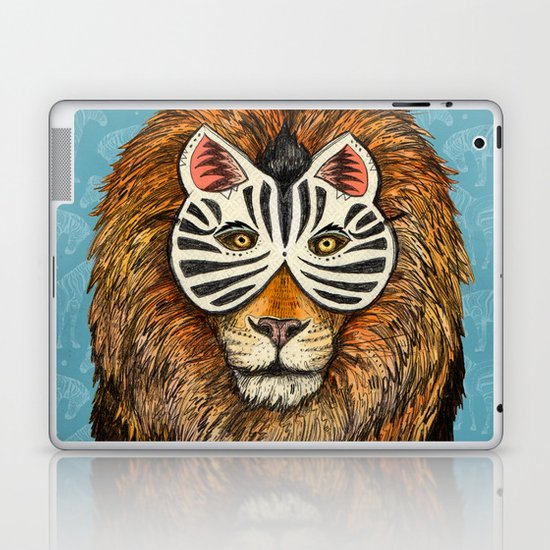 ZebraLion Laptop & iPad Skin
