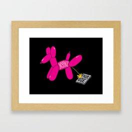 Koon's Balloons Framed Art Print
