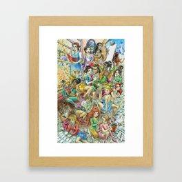Fairy Tales Tell Tales Framed Art Print