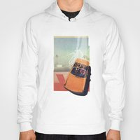 car Hoodies featuring Getaway Car | Collage by Julien Ulvoas