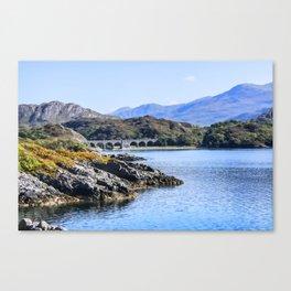 Loch nan uamh Viaduct 2 Canvas Print