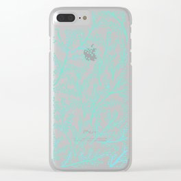 Branches – Mint Palette Clear iPhone Case