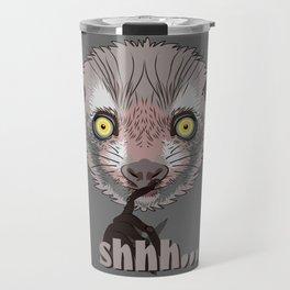 Aye-Aye Lemur Travel Mug