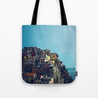 italy Tote Bags featuring Italy by Rupert & Company