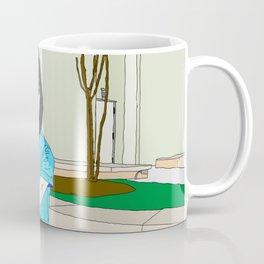 Qin Ai De With Cheetah Coffee Mug