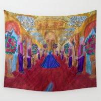 cinderella Wall Tapestries featuring Cinderella  by Jgarciat