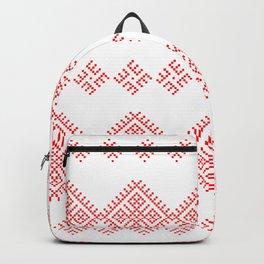 Pattern - Family Unit - Slavic symbol Backpack