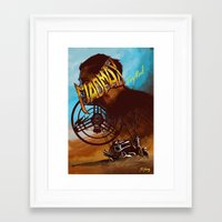 mad max Framed Art Prints featuring Mad Max by marourin